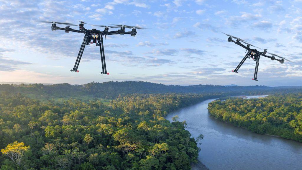 drones zehirut